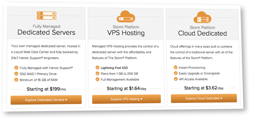 liquidweb hosting pricing
